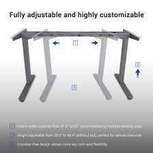 Automatic Height Adjustable Desk by Amazon Com Flexispot 48
