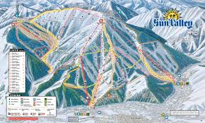Maps Org Sun Valley Bald Mountain Skimap Org
