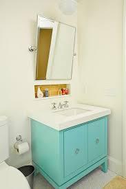Turquoise Bathroom Vanity Yellow And Turquoise Bathroom