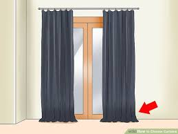 Window Length Curtains 4 Ways To Choose Curtains Wikihow