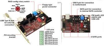addonics product 4x1 hardware port multiplier system version