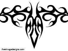 tribal skull design free image design free image