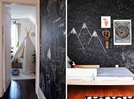 tableau chambre chambres d enfants peinture à tableau noir