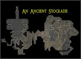 dungeon siege map 1 an ancient stockade maps dungeon siege ii broken