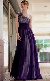 one shoulder purple bridesmaid dresses naf dresses