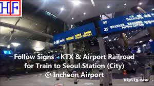 seoul incheon airport icn to seoul station by train travel