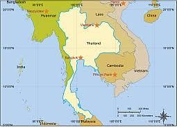 thailand vector map thailand free vector map