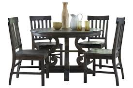 bellpine round dining table 4 side chairs