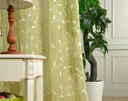 Custom Sheer Drapes Custom Sheer Panels Etsy