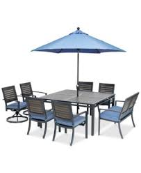 4 Dining Chairs Harlough Ii Outdoor Dining Collection With Sunbrella Cushions