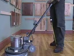 how to screen and re coat a hardwood floor