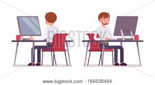 Working At The Desk Clerk Images Illustrations Vectors Clerk Stock Photos U0026 Images