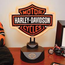 Harley Davidson Patio Lights by Harley Davidson Bar U0026 Shield Neon Lamp U2014 14 1 2in H Www Kotulas
