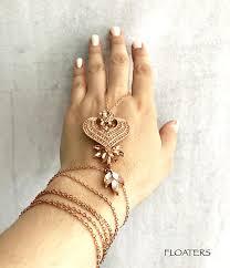 rose gold hand bracelet images Rose gold bracelet gold hand chain ring bracelet hand piece jpg