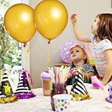 amazon com gold balloons decorations 100 pcs 12 inches gold