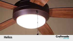 Craftmade Ceiling Fan Craftmade Helios Ceiling Fan Collection Youtube
