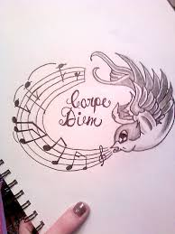 carpe diem design by xtastexofxinkx on deviantart