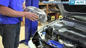 2001 hyundai accent battery how to install replace change headlights and bulbs 2001 06 hyundai