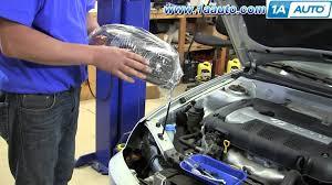 2002 hyundai sonata headlights how to install replace change headlights and bulbs 2001 06 hyundai