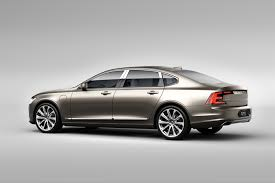 volvo sedan volvo cars unveils new version of the s90 sedan and top of the