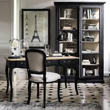 bureau classique bureau classique inspiration style classique bois textile verre