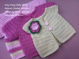 crochet baby sweater pattern crochet baby jacket pattern easy peasy cardigan crochet