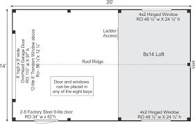 garage floor plan one bay garage plans