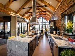 open kitchen designs with islandschic and trendy open kitchen