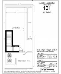 luxury townhome floor plans new condos at 101 bay harbor u2014the luxury team