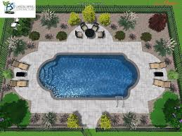 Pool Landscaping Ideas Pool Landscape Ideas Roman Shape Google Search Inground Swimming