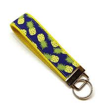 fabric key fob personalized solid color fabric key fob from it s sew you dear