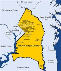 maryland map capital about pgc prince george s county md