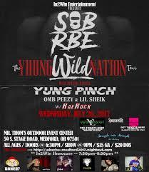 sob x rbe the yhung wild nation tour tickets mr thom u0027s
