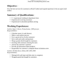 Restaurant Cashier Resume Good Cashier Resume Redacted Cashier Sample Best 20 Good Resume