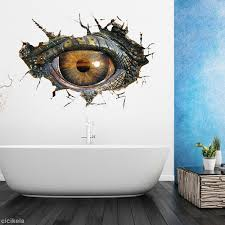 3d removable dinosaurs eye wall stickers bedroom home decor art 3d removable dinosaurs eye wall stickers bedroom home