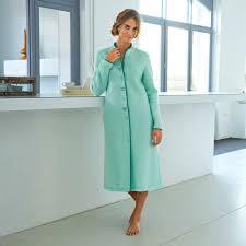 robe de chambre courtelle peignoir brodé maille courtelle blancheporte