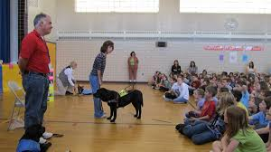 Leader Dogs For The Blind Rochester Michigan Leading The Way Students See How Service Dogs Bring Independence