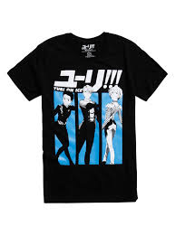 halloween horror nights t shirts yuri on ice victor and yuri grand prix t shirt topic