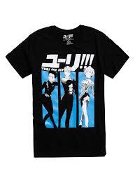 yuri on ice victor and yuri grand prix t shirt topic