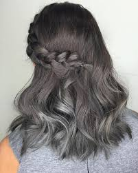 hoghtlighting hair with gray 25 cool black and grey hair color ideas that are trendy now