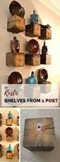 Diy Reclaimed Wood Floating Shelf by Make Any Slab Of Wood A Floating Shelf With A Tough And Invisible