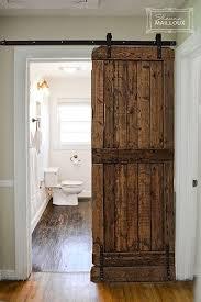 bathroom doors ideas best 25 barn door for bathroom ideas on sliding sliding