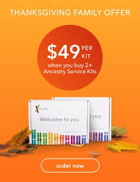 23andme dna test as low as 49 during thanksgiving family sale