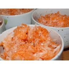 cuisiner le radis noir cuit recette de salade de carotte et radis noir à la japonaise