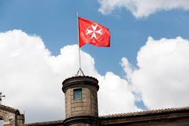 Matla Flag Temporary Knights Of Malta Order Chief Takes Oath Of Office
