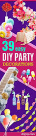 birthday decorations to make at home 100 easy party decorations to make at home best 25 party