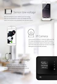 2015 nice design app gsm wifi home security alam system g90b with