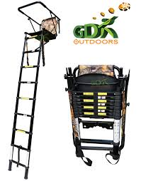 telescopic high seat backpack designclay pigeon traps gun cabinets