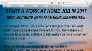 secret work from home jobs 2017 easy way to make money online 2018