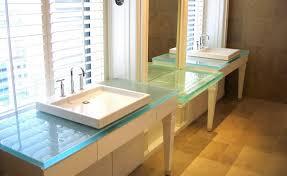Refacing Bathroom Vanity Excellent Ideas Glass Bathroom Sinks Countertops 4metre Double